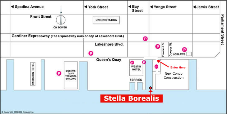 Stella Borealis location map